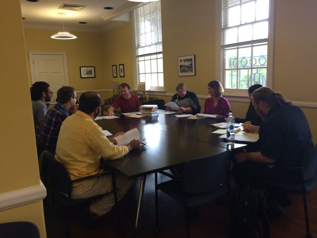 Medieval Welsh Workshop with Dr. Joshua Byron Smith