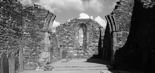 St. Kevin's monastic settlement in Glendalough, Ireland